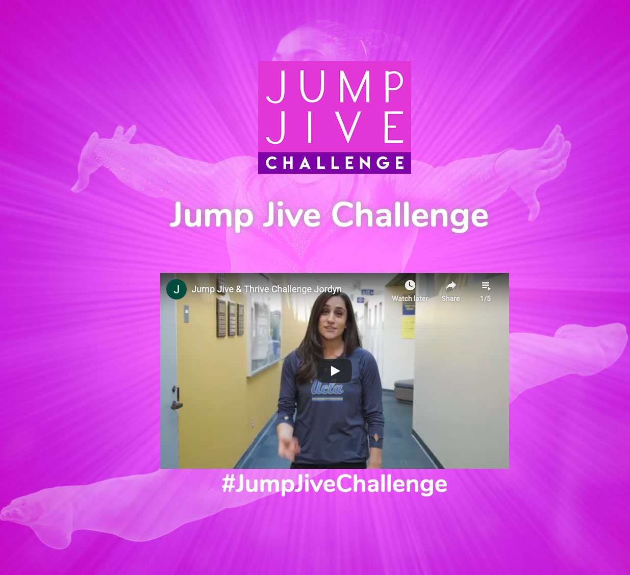 Jump, Jive & Thrive